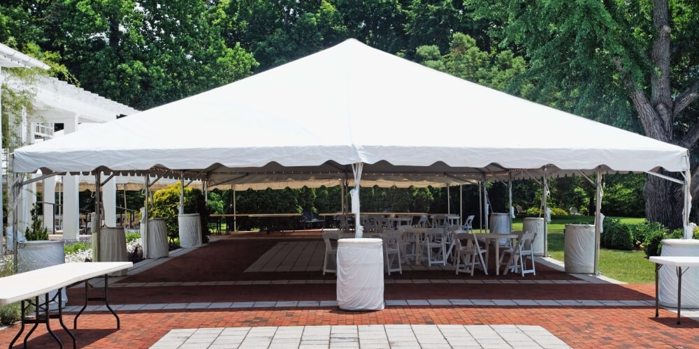 canopies and tents rentals